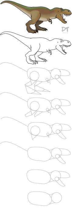 dinosaur sketch easy dinosaur drawing drawing for kids painting for kids drawing tips art for kids amazing drawings easy drawings how to draw