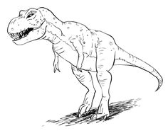 how to draw dinosaurs dinosaurs t rex drawing how to draw a t rex