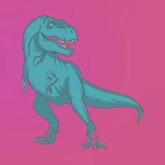 t rex illustration