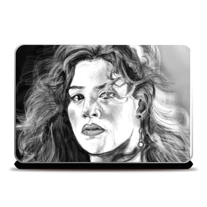 kate winslet rose titanic laptop skins artist draw on demand postergully