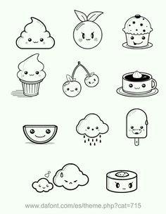 cute little doodles skizzierung nachmalen bleistift cupcake zeichnung kawaii zeichnungen coole