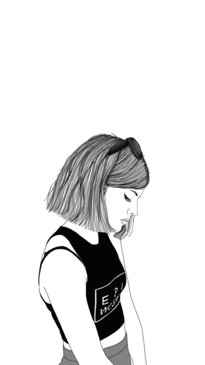 Tumblr Drawing Dark Draw Pattern Le Fond Ecran Tumblr Fond D Ecran Verrouillage Idee