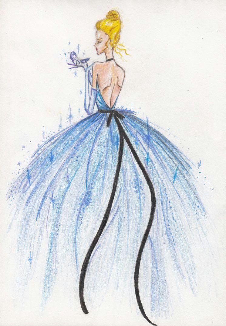cinderella by ritu13 deviantart com on deviantart dress sketches fashion sketches
