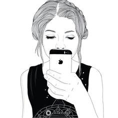 y o u r l i t t l e b r o t h e r n e v e r s a y s i t b u t h e l o v e s u s o hipster drawings tumblr sketches tumblr girl drawing tumblr
