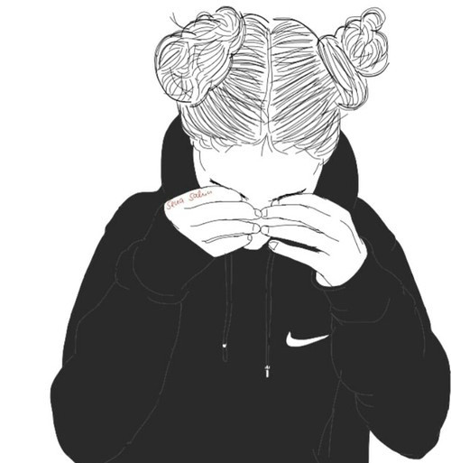 tumblr girl drawing nike smutne dziewczyna tumblr nike obraz 3270256 od helena888 na