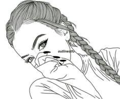 meninas tumblrs tumbler drawings background drawing girl drawings tumblr girl drawing