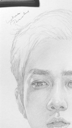 kpop drawings kpop fanart sehun realistic drawings drawing sketches drawing ideas pencil art challenge fan art