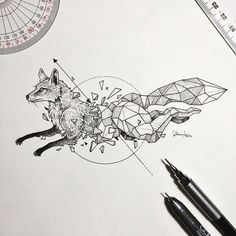 top 40 tatowierungsskizzen neu tatto designs 2018 geometrisches zeichnen geometrie tattoo fuchs tattoo