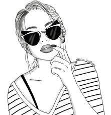 resultado de imagen para chica con paragua tumblr hipster tumblr girl drawing tumblr sketches