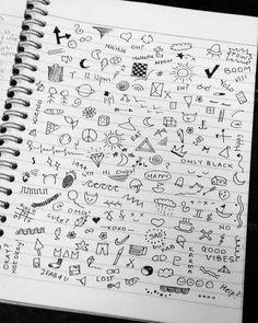 grunge doodles on tumblr