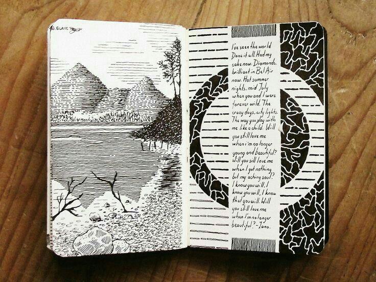 art sketchbook sketchbook tumblr art journal inspiration art inspo moleskine journal