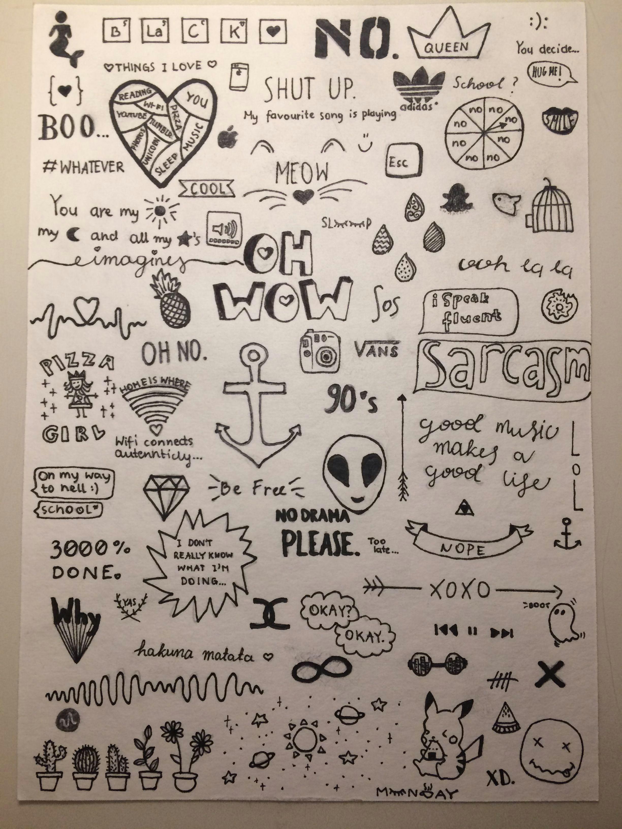 tumblr doodles a i