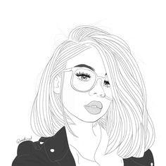 instagram post by d outlines d jan 28 2017 at 5 43am utc tumblr girl drawinggirl