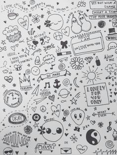 easy doodles note doodles random doodles notebook doodles little doodles notebook