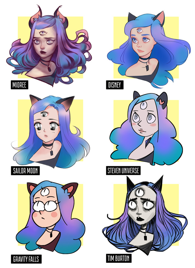 style challenge by mior3e on deviantart
