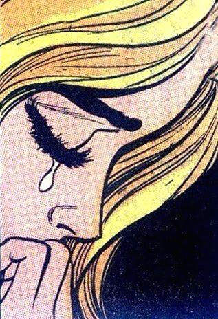 tumblr crying girl
