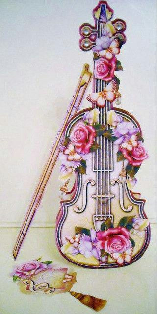 2019 full square diamond embroidery violin pattern diamond painting cross stitch picture crystal needlework moasic flowers butterfly from haolinhome