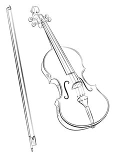 violin and bow coloring page from musical instruments category select from 22454 printable crafts of cartoons nature animals bible and many more