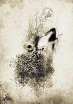 abstract wolf cool art art drawings wolf drawings tattoo wolf wrist tattoo