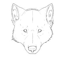 bildresultat for wolf face from front drawing wolf face drawing animal drawings wolf drawings