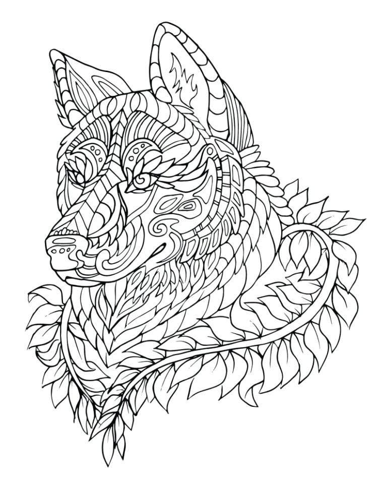 Wolf Drawing Book Fresh Black and White Wolf Coloring Pages Nicho Me