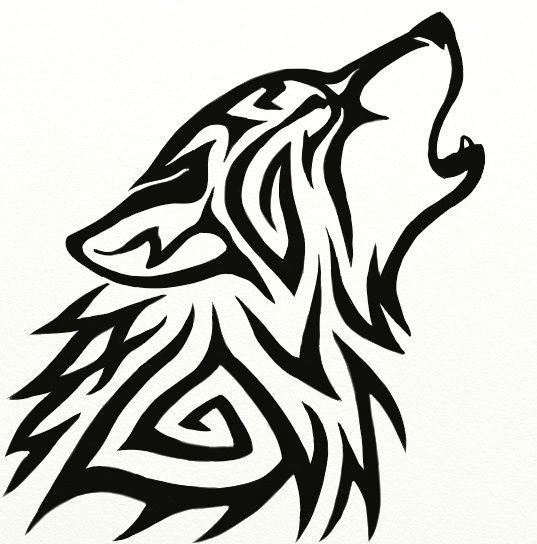 tribal wolf avatar by hareguizer deviantart com