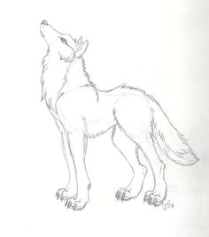 wolves are one of my favorite things to draw gonna draw this with lots of