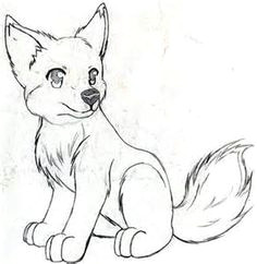 anime wolf pup drawings lots of sketches here cool art styles anime drawings