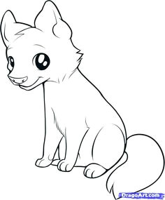 how to draw an easy wolf hundreds of drawing tuts on this site easy animal