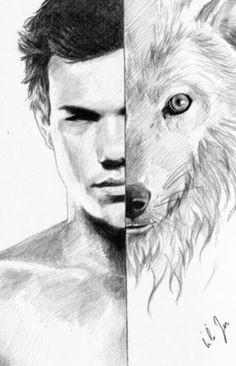 awesome taylor lautner wolf drawing jacob black twilight twilight wolf twilight movie