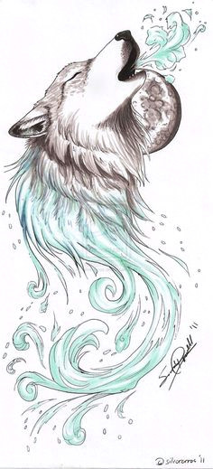 wolf howling drawing tattoo drawings art drawings drawings of wolves drawing art