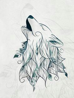 it s a night where luna is shining full wolf print tattoo tattoo wolf