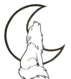 2 views wolf drawing easy wolf howling drawing wolf silhouette line art