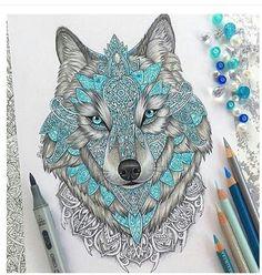 imagen de wolf drawing and art cool tattoos amazing tattoos beautiful tattoos