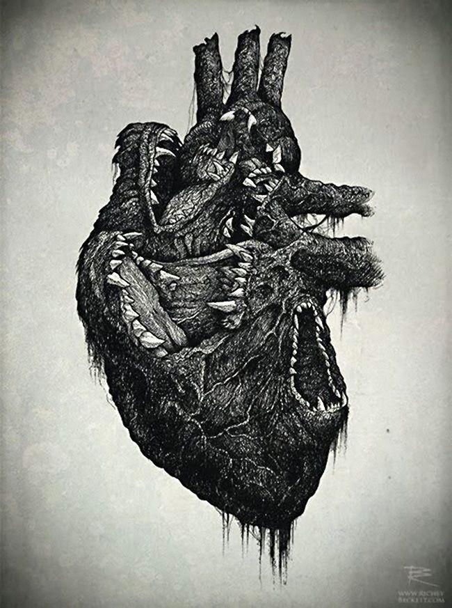 wolf heart richey beckett illustration