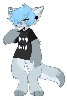 wolfy boi ufohouse furry wolf furry art furry drawing cute art
