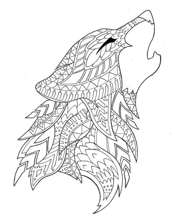 ausmalbilder pferde mandala ideen of pin von tessa marie auf coloring pages pinterest schon wolf coloring page