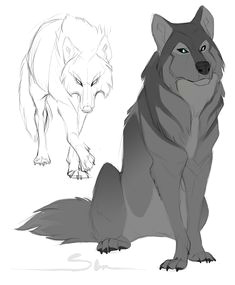 Wolf Mating Drawing 308 Best Demon Wolf Images Animal Drawings Drawings Sketches Of