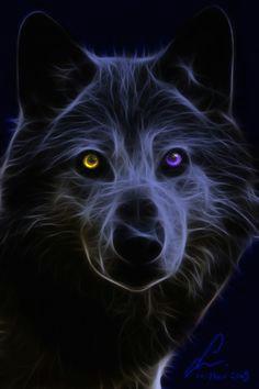 fractal wolf wolf hintergrundbild tier wallpaper anime wolf wolf bilder wolfspirit