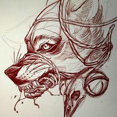 thievinggenius tim tavaria wolf tattoos animal tattoos tattoo you tatoo
