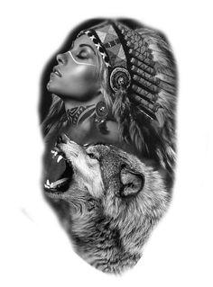 mandala lowe tattoo manner indianerin tattoos familie wolf bilder tattoos vorlagen