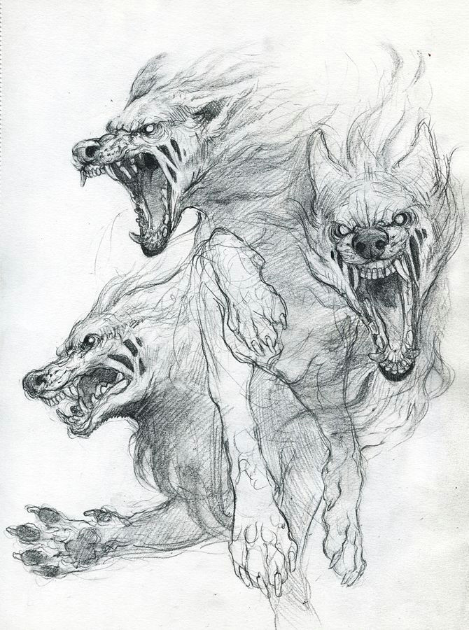 neue tattoos animal drawings scary drawings horse drawings werewolf tattoo werewolves