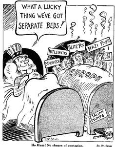 dr seuss political cartoons