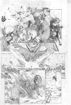 avx issue 11 pg 14 comic art spetri marvel