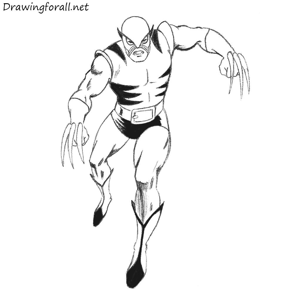 how to draw original wolverine http www drawingforall net how