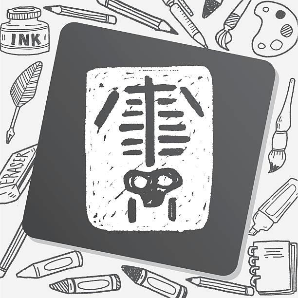 xray doodle vector id583856804