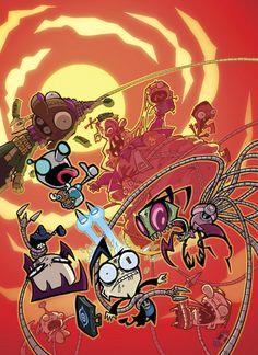invader zim characters awesome amazing fandoms animation cartoon drawing reference invader zim manga comics