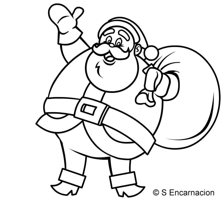 Xmas Cartoon Drawing Pin by Creg Beasley On Cartoon Art Santa Santa Claus Drawing