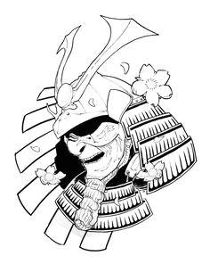 samurai mask tattoo helmet tattoo samurai helmet character drawing tattoo designs