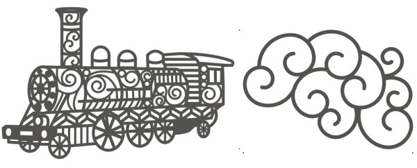 rayher stanzform eisenbahn u wolke train 60 667 000